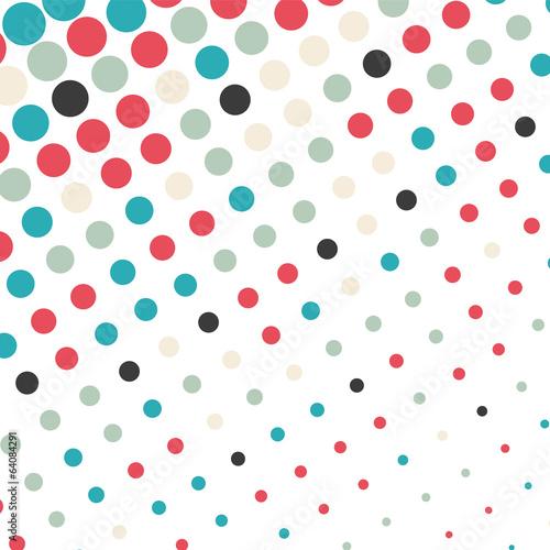 Abstract dotted background © karandaev