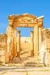The Jerash Cathedral in Gerasa, Jerash, Jordan.
