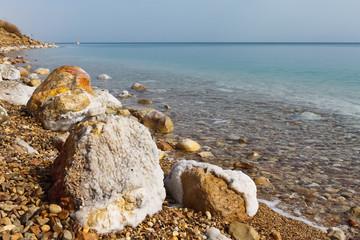 死海のほとり