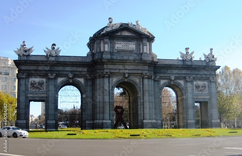 arch in madrid