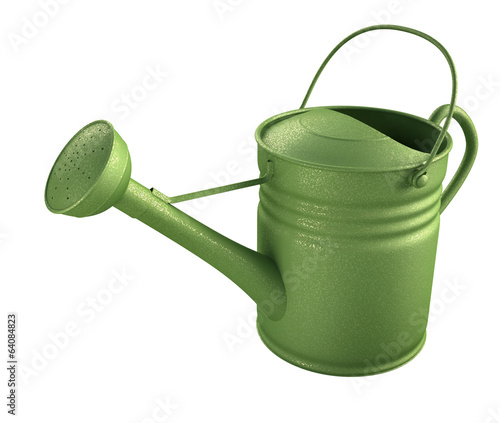 Watering Can. Clipping path included.