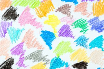 Abstract colored pencil background