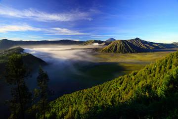 Mt.Bromo and Semeru,Java,Indonesia