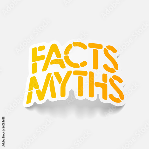 realistic design element: facts - myths