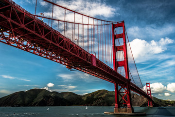 Golden Gate Bridge clear sky