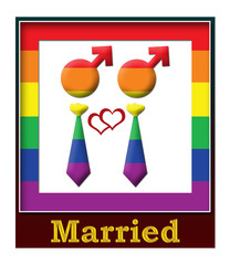 Gay Married Frame