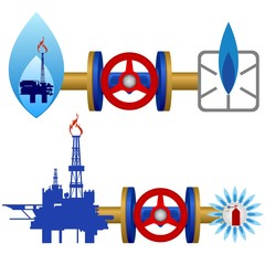 Natural gas industry