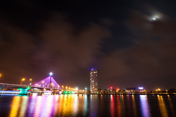 Han River Bridge in Da nang, Vietnam