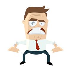 business mann männchen wütend zornig