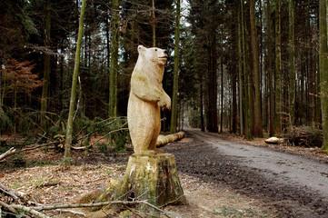 Sculpture d'ours