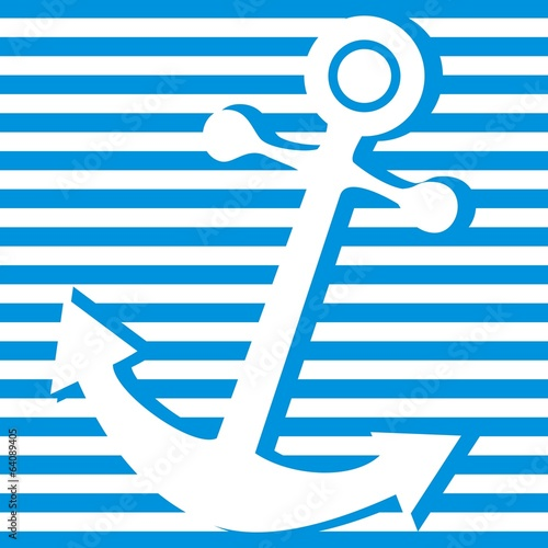 anchor-striped background