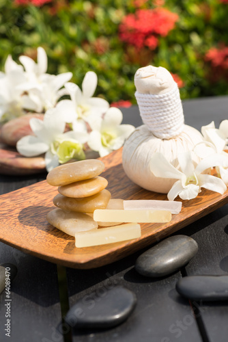 Outdoor Herbal Spa Massage