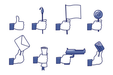 social network icons set 3