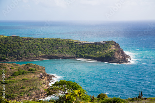 Horshoe Bay on Antigua