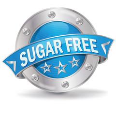 Button Zucker frei