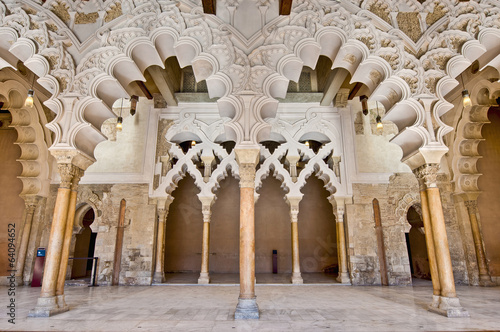 Aljaferia Palace at Zaragoza, Spain