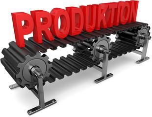 Fließband Produktion