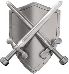 Schwerter mit Schild