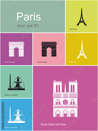 Icons of Paris