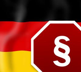 German Law Sign