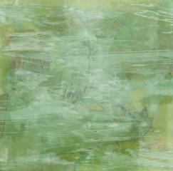 Fond abstrait Vert Absinthe - Peinture Moderne