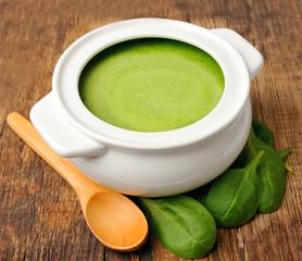 Vegetable cream soup.