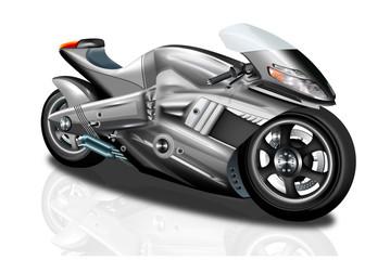 Superbike freigestellt