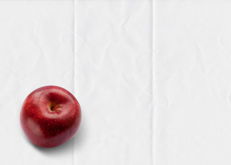 apple folded paper