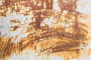 Old grungy and rusty background with scratches