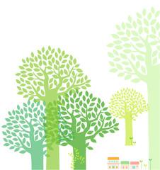 나무 배경 2