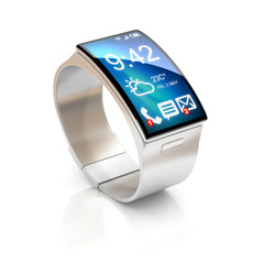 smart watch 3d illustration