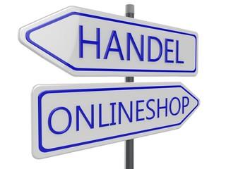 Handel Onlineshop