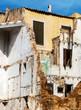 canvas print picture - Abbruch eines Hauses