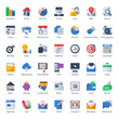 web,business, finance and communication icons