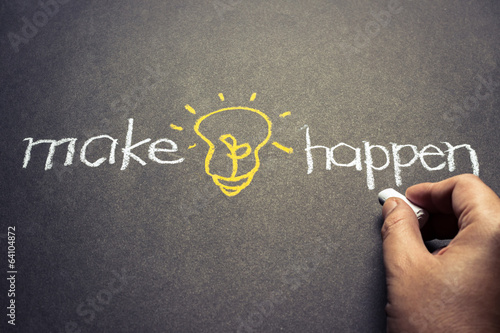 Make idea happen