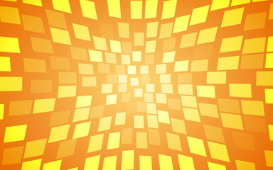 summer gradient yellow warp square background (vector)