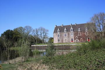 château et parc de comper en Concoret