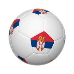 Serbian soccer ball