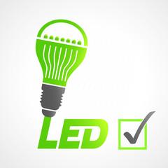 picto ampoule LED
