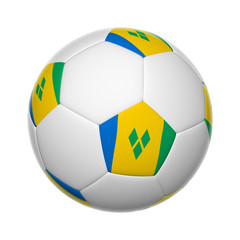 Saint Vincent And The Grenadines soccer ball