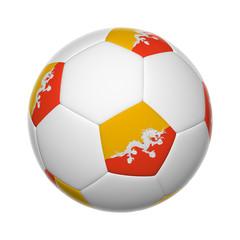 Bhutanese soccer ball