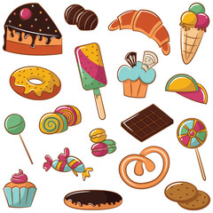 Sweets Icon Set