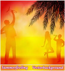 Hintergrund Sommerfest