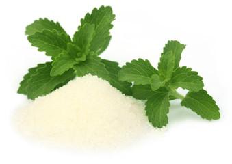 Stevia with suga