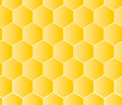 Seamless honeycombs pattern, vector illustration