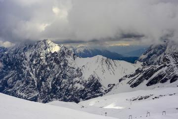 Stormy Alps