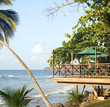 patio restaurant Caribbean sea resort Big Corn Island N