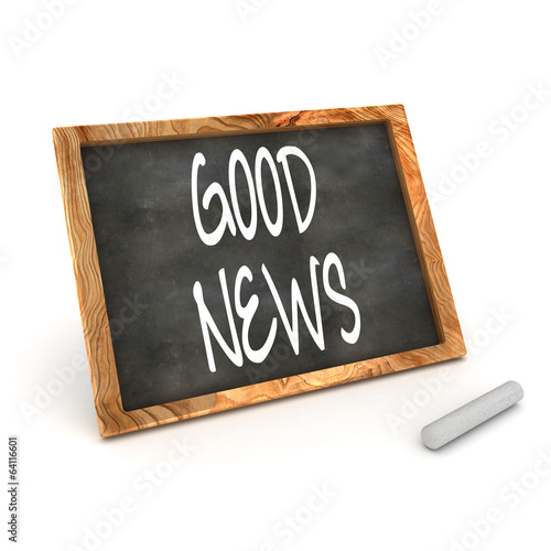 Blackboard Good News