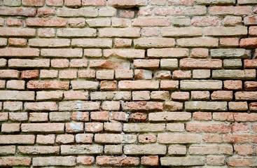 antico muro in mattoni