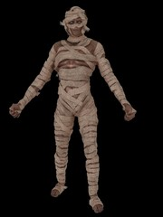 Egyptian mummy walking